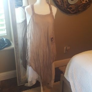BOHO style Italian made dress!